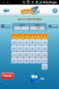 Code-Z: Word Puzzle Game Pro- screenshot thumbnail
