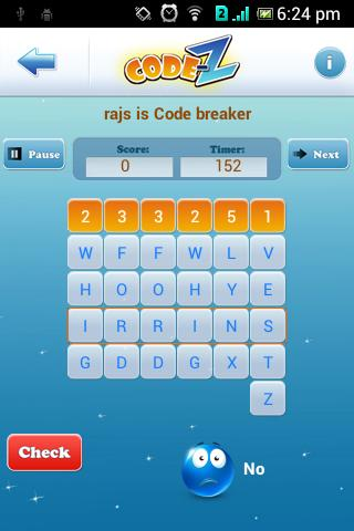 Code-Z: Word Puzzle Game Pro- screenshot