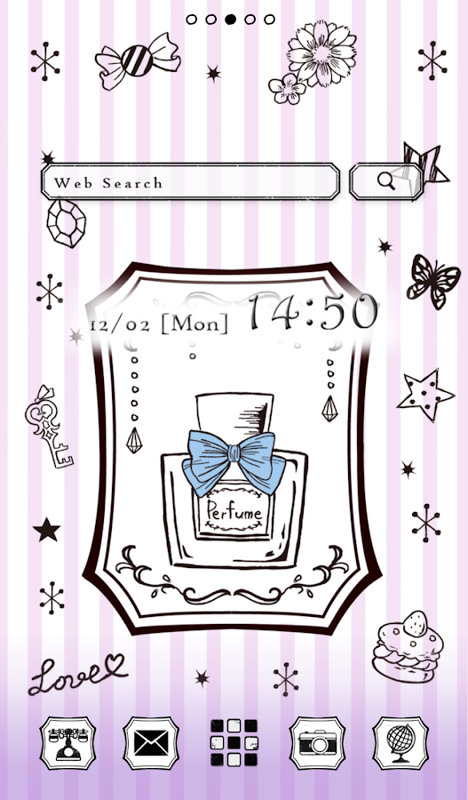 Cute wallpaper★Gothic Perfume - screenshot