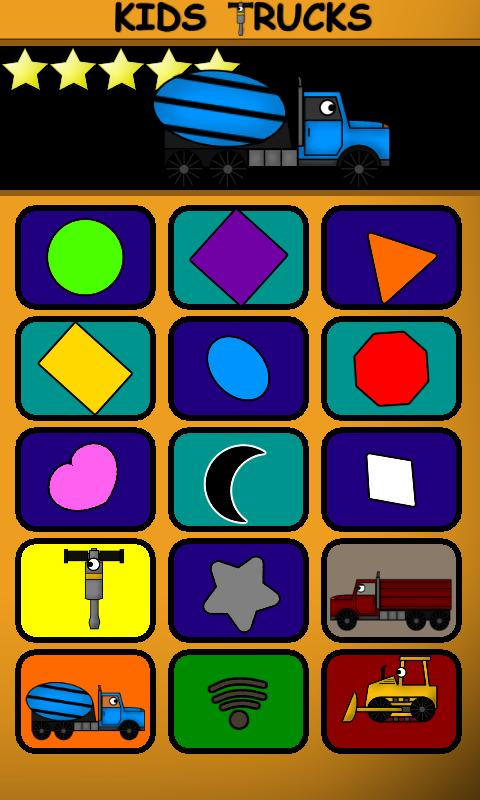 Kids Trucks: Preschool Free- screenshot