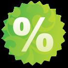Discount Calculator Donate icon