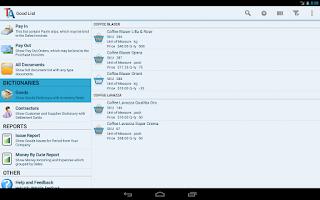 Screenshot of Trade Accounting