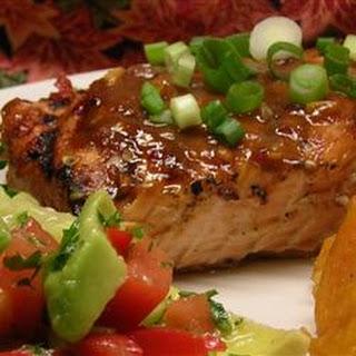 Chile Garlic BBQ Salmon.