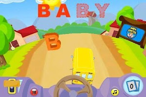 Screenshot of Alphabet Car: Learn ABC's Lite