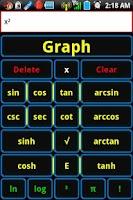 Screenshot of Listcalc Calculator