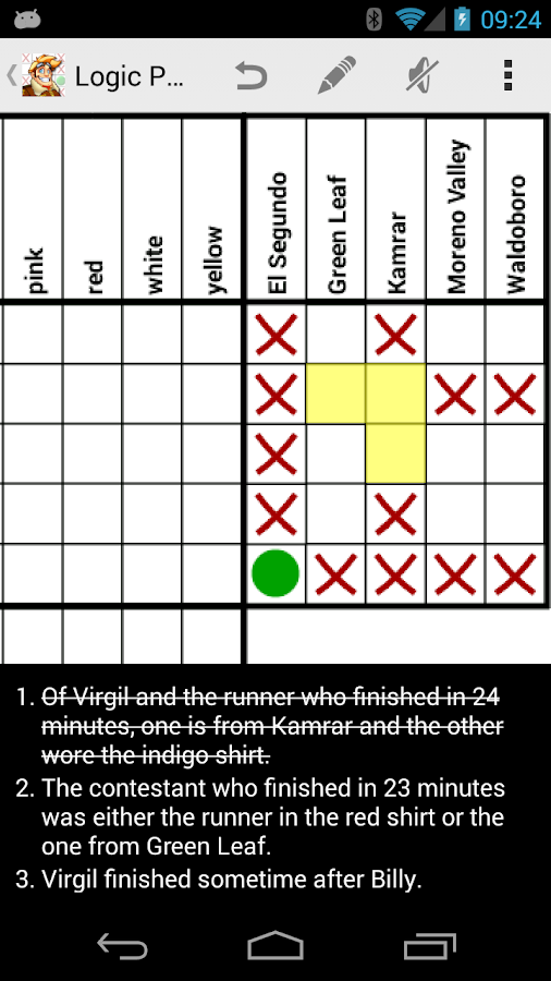 Logic Puzzles - Brain Fun - screenshot