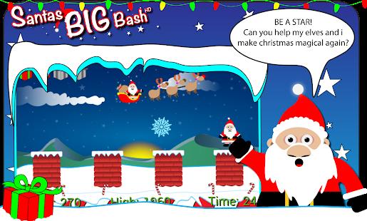 Christmas Game:Santas Big Bash