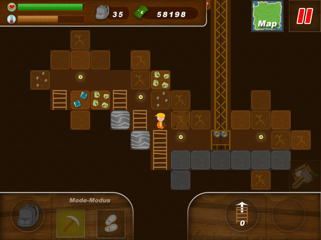 Treasure miner: A mining game for Android - Free Download ...
