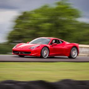 Ferrari 458 Italia by Nicole Nichols - Transportation Automobiles ( car, sportscar, panning, supercar, ferrari 458, ferrari,  )