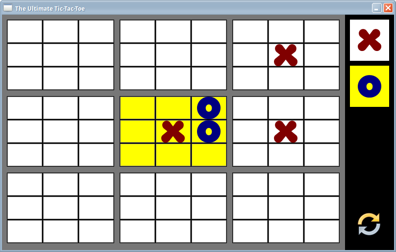 The Ultimate Tic-Tac-Toe- screenshot