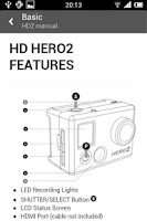 Screenshot of GoPro Guide - Hero 3 Camera
