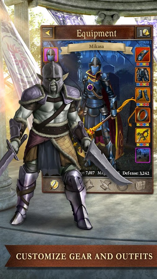 Book of Heroes - screenshot