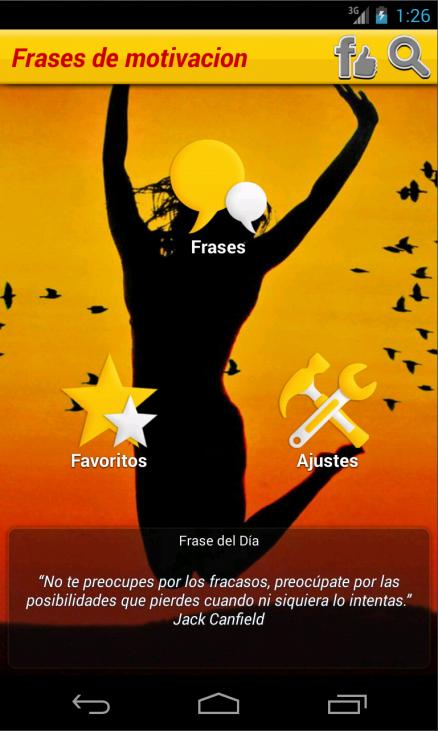 Frases de motivacion - screenshot