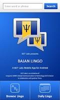 Screenshot of Bajan Lingo