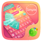 Simple Keyboard Theme & Emoji