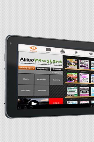 【免費新聞App】African Newsstand-APP點子