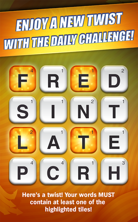 Scramble With Friends - screenshot