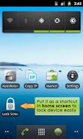 Screenshot of Lock Screen App