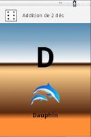 Screenshot of Addition of dice