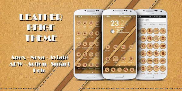 Leather Beige Theme v1.1.4