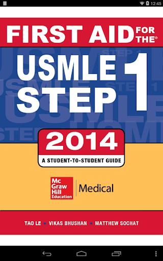 First Aid USMLE Step 1 2014