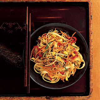 Curried Vegetable Lo Mein.