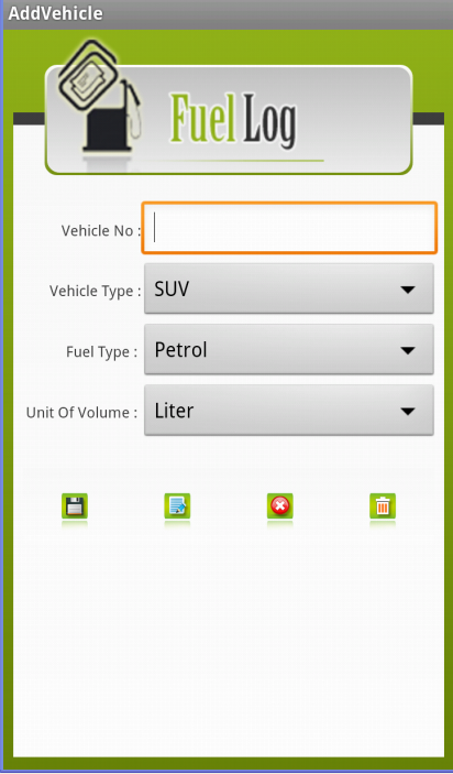 Fuel Efficiency - Demo Version- screenshot