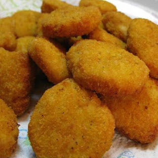 Baked Chicken Nuggets.