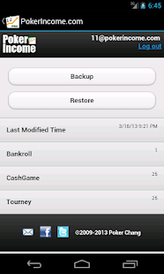 Poker Income ™ Tracker - screenshot thumbnail
