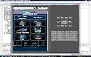 Screenshot of ScyTek Galaxy Mobile
