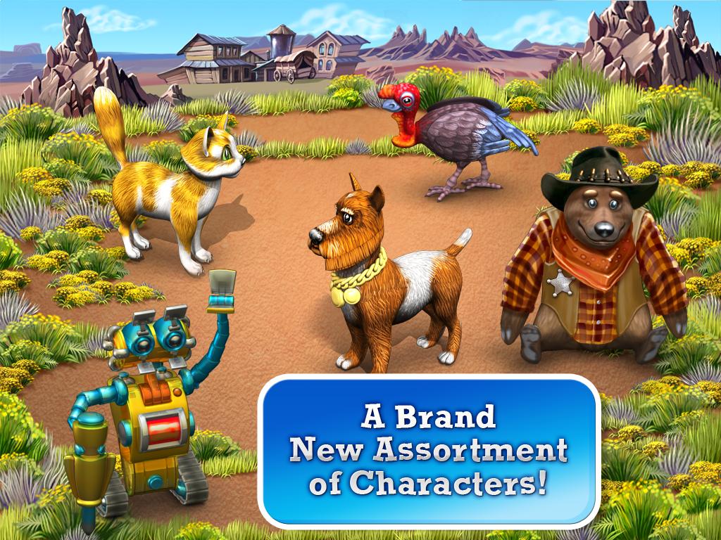 Download Farm Frenzy 3: American Pie  Funny farming game APK latest