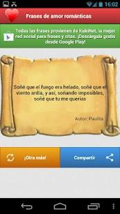 Frases bonitas de amor - screenshot thumbnail