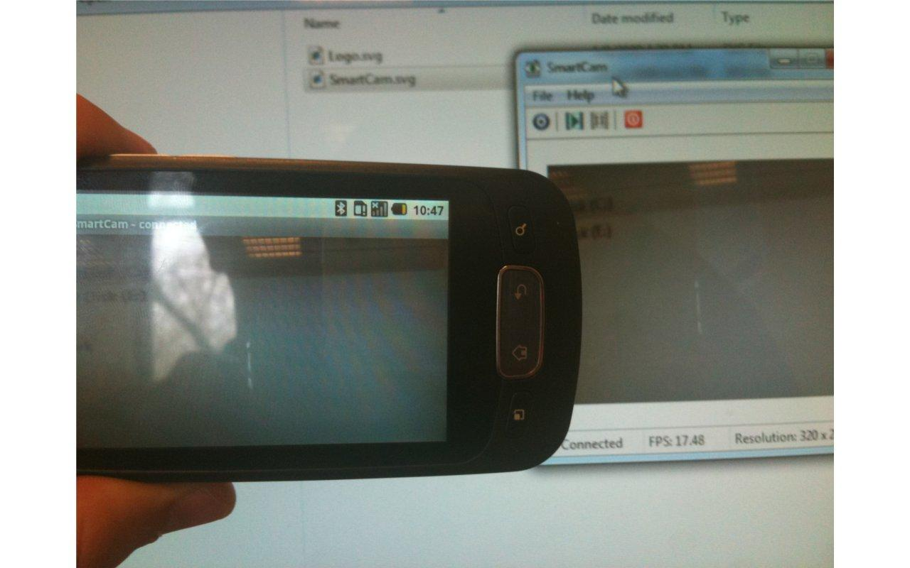 SmartCam webcam - screenshot