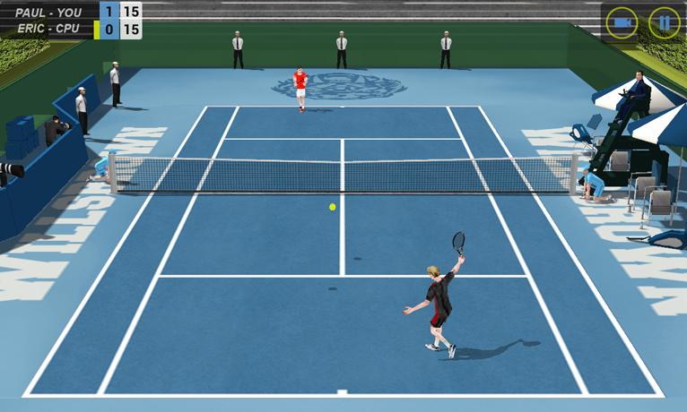 Flick Tennis screenshot #3