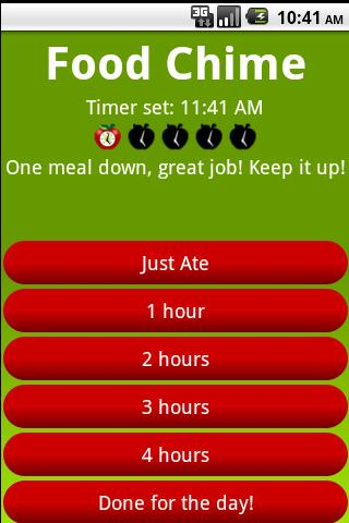 Food Chime - screenshot