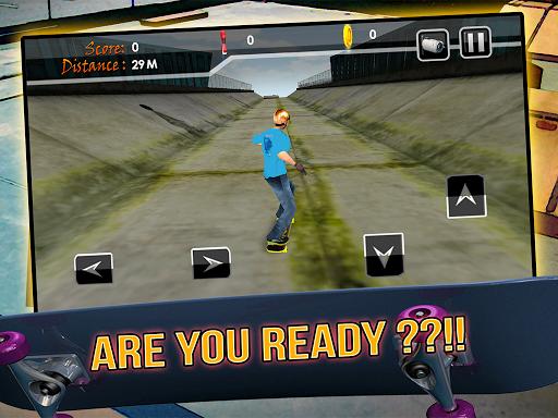 Skater Highway Street 3D