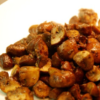 Spicy Sautéed Mushrooms with Anchovy.