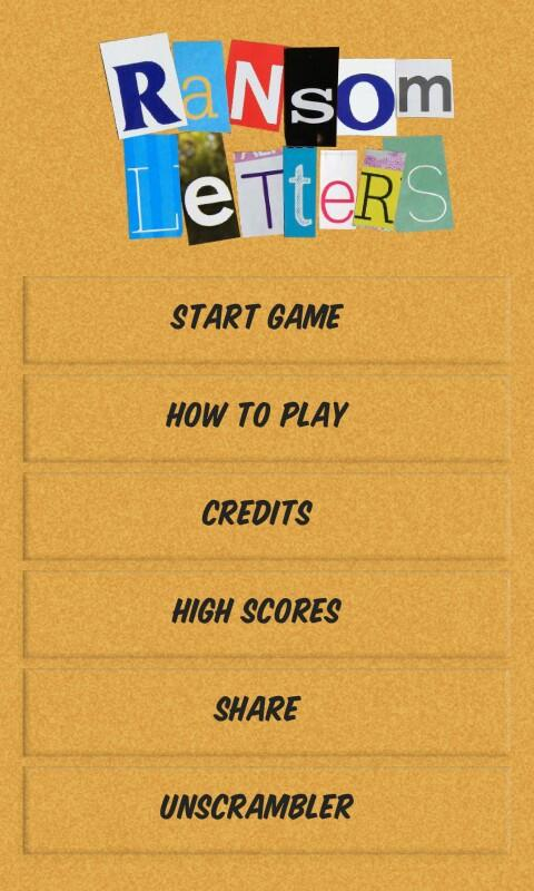 Ransom Letters - screenshot