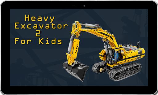 Heavy Excavator 2 for kids