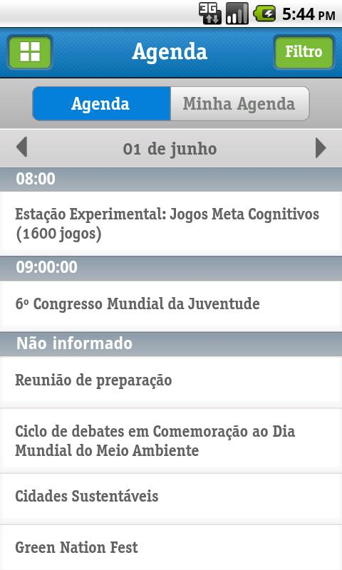 Rio+20 Vivo- screenshot