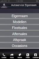 Screenshot of Eigenraam Peugeot