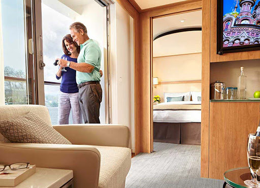 Viking-Longship-Veranda-Suite-2 - Capture and share precious moments during your European travels aboard a Viking Longship.