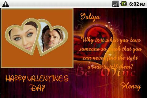 【免費個人化App】Frame Your Valentine-APP點子
