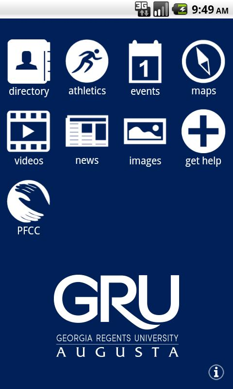GRU Mobile- screenshot
