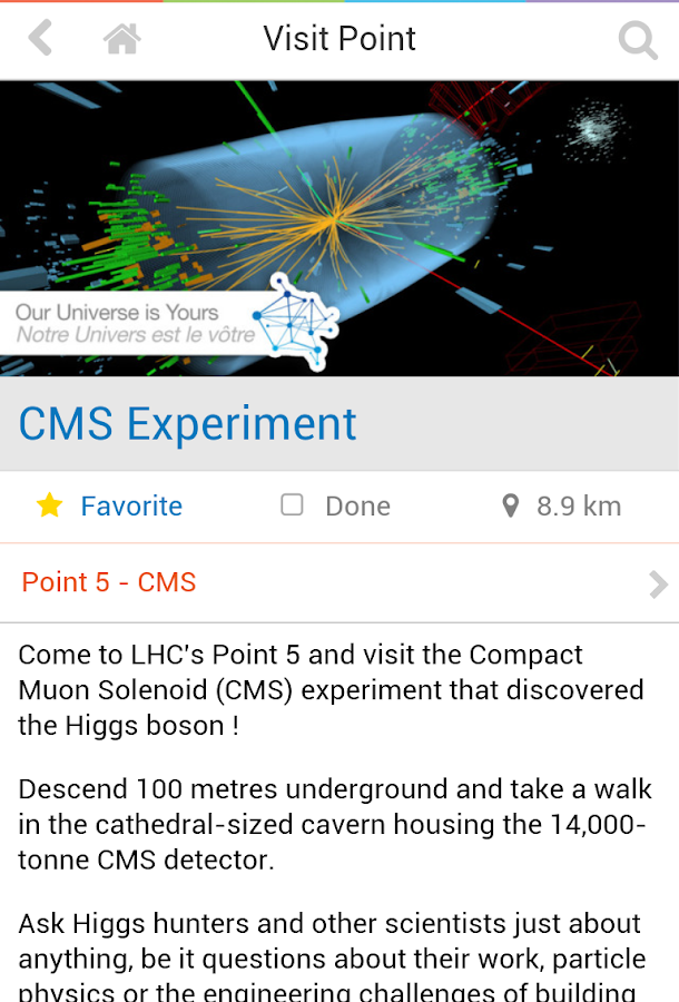 CERN Open Days 2013- screenshot