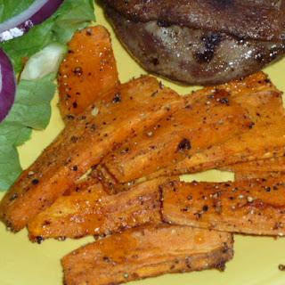 Orange Cardamom Roasted Sweet Potatoes