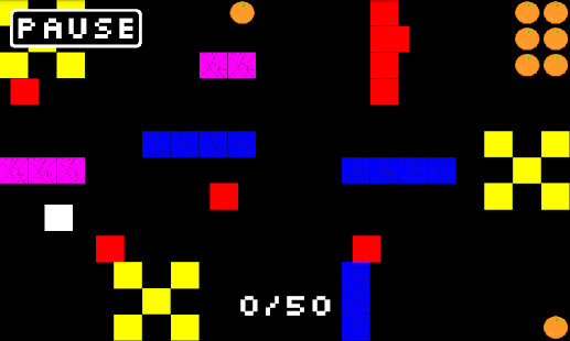 PING - 8bit Retro Pong Puzzler- screenshot thumbnail