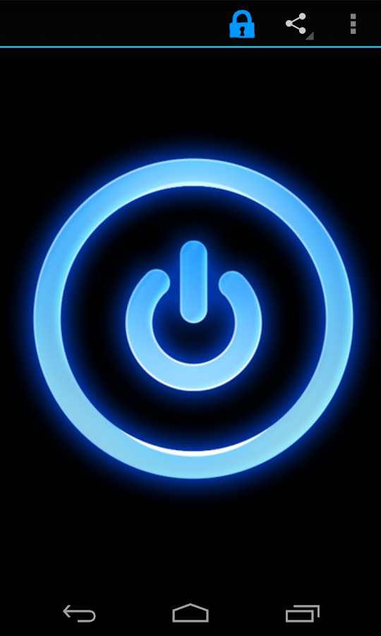 Led Flashlight (+widget) - screenshot