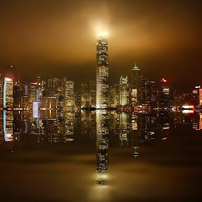 hong kong by Christian Heitz - City,  Street & Park  Skylines