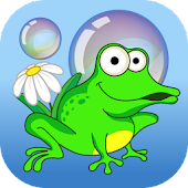 Bubbles frog and bees for kids